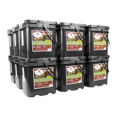 Image of Wise Foods 1080 Serving Gourmet Freeze Dried Meat Grab & Go Food Kit