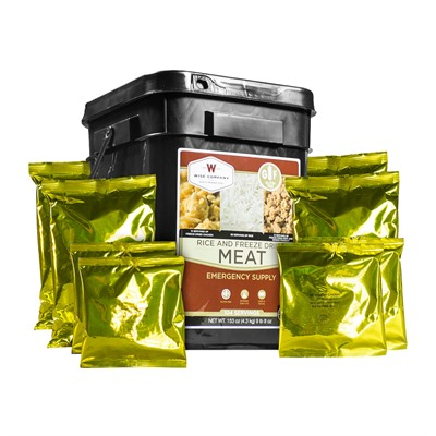 Wise Foods 104 Serving Freeze Dried Meat & Rice-Gluten Free