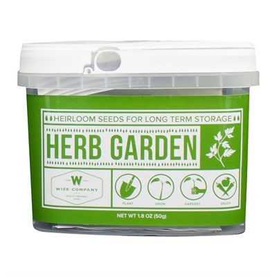 Wise Foods Herb Garden Heirloom Seeds