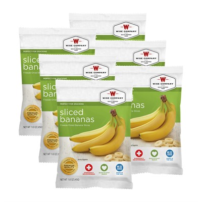 Wise Foods Sliced Bananas