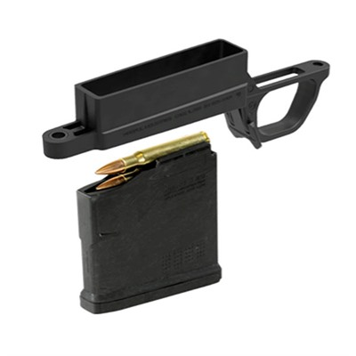 Bolt Action Magazine Well Hunter 700l Magnum Black