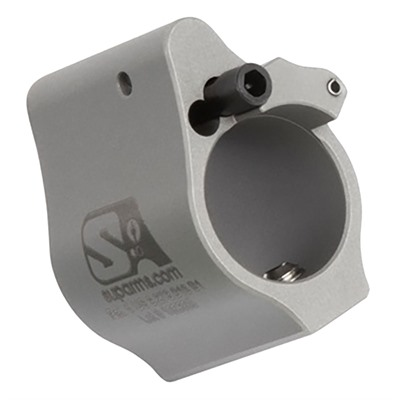 """Ar-15 Adjustable Gas Block .625"""" Solid - Ar-15 Adjustable Gas Block .625"""" Solid Stainless"""
