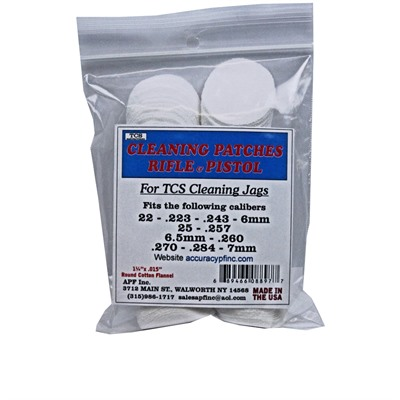Tcs Cleaning Patches 22 Caliber 7mm Online Discount