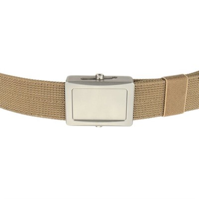 Ares Gear Aegis Belt - Aegis Belt Stainless Buckle Coyote Webbing Small