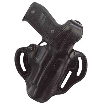 Galco International Cop 3 Slot Holsters - Cop 3 Slot S&W M&P-Black-Left Hand