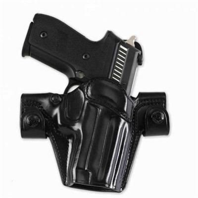 Galco International Side Snap Scabbard Holsters - Side Snap Scabbard S&W M&P 9/40-Black-Left Hand