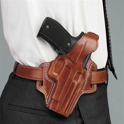 Galco International F.L.E.T.C.H. Belt Holster - F.L.E.T.C.H. Sig Sauer P239-Tan-Right Hand
