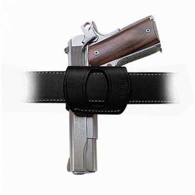 Galco International Yaqui Slide Holsters - Yaqui Slide Glock 21-Black-Right Hand