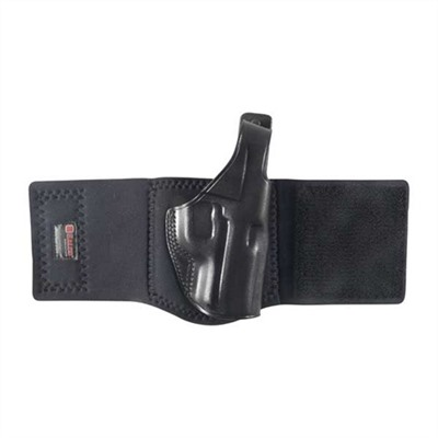 Galco International Ankle Glove Holsters - Ankle Glove Glock 26 W/Ctc Laser-Black-Right Hand