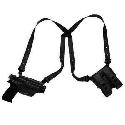 "Miami Classic Shoulder Holsters - Miami Classic Springfield Xd 4"" -Black-Right Hand"