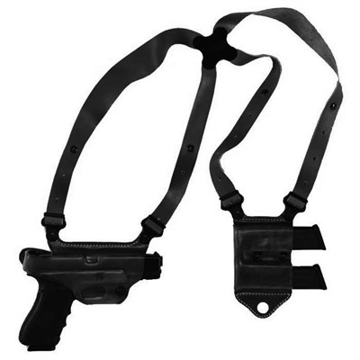 Miami Classic Ii Shoulder Holsters - Miami Classic Ii H&K Usp Compact 40-Black-Right Hand
