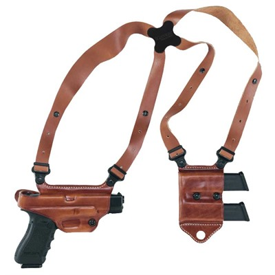 Miami Classic Ii Shoulder Holsters - Miami Classic Ii H&K Usp Compact 45-Tan-Right Hand