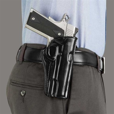 """Concealed Carry Paddle Holsters - Ccp 1911 3 1/2"""" -Black-Left Hand"""