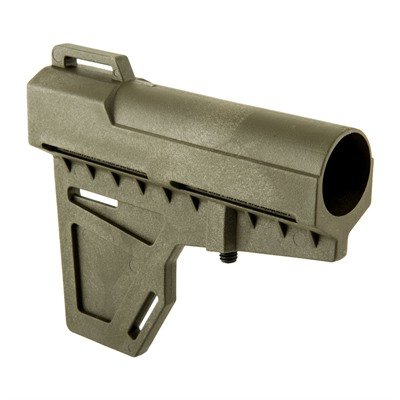 Kak Industry Ar-15 Kak Shockwave Blade Pistol Brace - Shockwave Blade Od Green