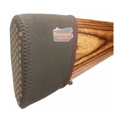 Beartooth Products 2.0  Slip On Recoil Pad - 2.0 Slip On Recoil Pad Brown