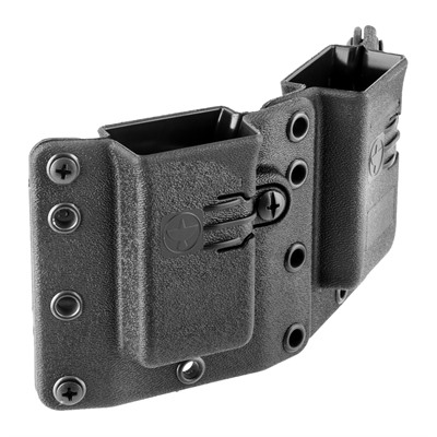 Copia Double Magazine Carrier - Copia Double Pistol Mag Carrier 9/40 Black Standard