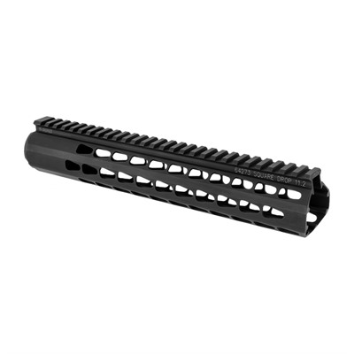 Advanced Armament Ar-15 Square Drop Handguards Black - Ar-15 Square Drop Handguard 11.15