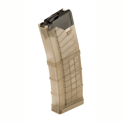 L5awm Translucent Flat Dark Earth 30-Rd Magazines - L5awm 30rd Translucent Dark Earth