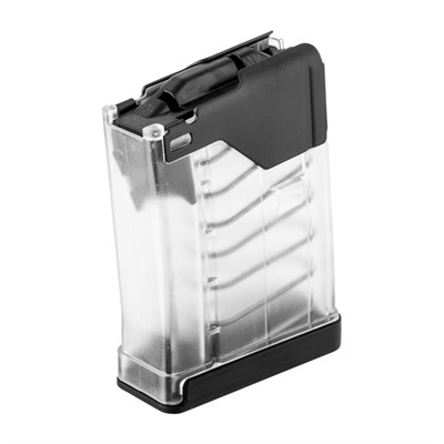 L5awm Translucent Clear 10-Rd Magazines - L5awm 10rd Translucent Clear