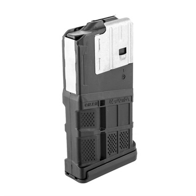 Lancer Systems Ar 308 L7awm Black 20-Rd Magazines - L7awm 20rd Opaque Black
