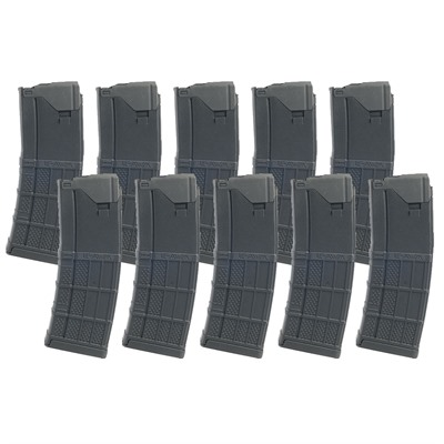 Lancer Systems Ar-15 30rd L5awm Opaque Black Magazine 223/5.56 - Ar-15 L5awm Opaque Black Magazine 223/5.56 30rd Polymer