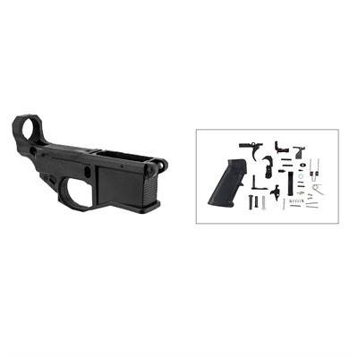 Brownells Ar-15 80% Lower Receiver W/ Jig & Lower Parts Kit