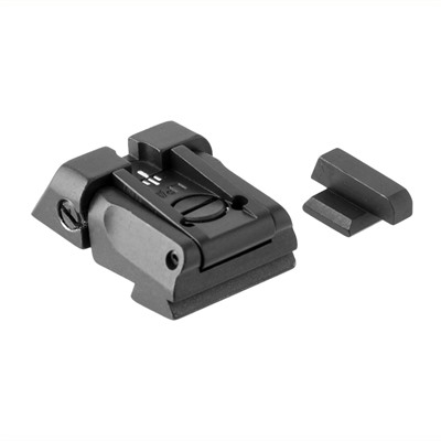 Fusion Firearms Kimber Adjustable White Dot Sight Set
