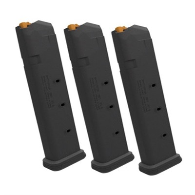 Magpul Pmag 21 Gl9 Magazine, For Glock, 9x19 - Pmag 21 Gl9 Magazine 3 Pack For Glock