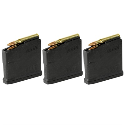 Magpul Remington 700 Pmag 5 Ac  L Magnum Aics Long Action Magazine - Pmag 5rd Ac L Magnum Aics Long Action Magazine 3 Pack