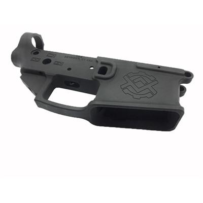 Kinetic Development Group Ar-15 Enhanced Billet Stripped Lower Receiver