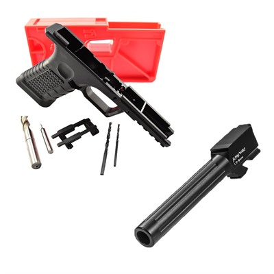 Brownells 80% Polymer Frame For Glock 17? W/ Barrel