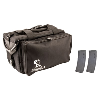 Brownells Range Bag W/ 2-Pk 30-Rd Pmags