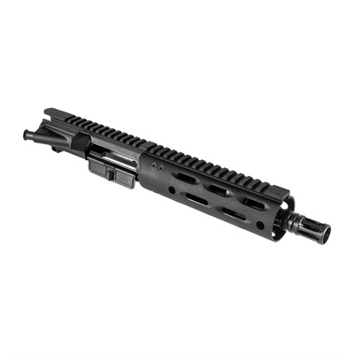 "Ar-15 7.5"" Upper Assembly 5.56 M4 Hybrid Rail No Bcg Or Ch - 7.5"" Upper Assembly 5.56 M4 H"