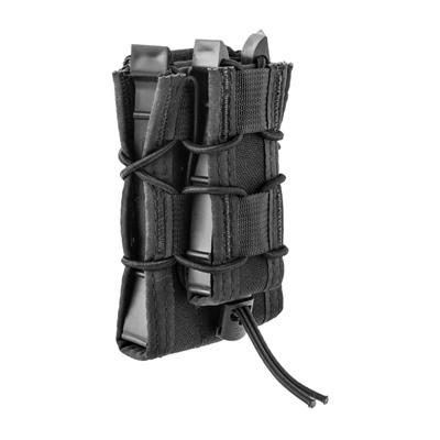 Magazine Carrier Double Decker Taco Belt Mount - Double Decker Lt  Belt Mount Black