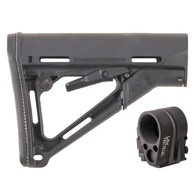 Buy Brownells Ar-15 Ctr Stock Collapsible Mil-Spec W/ Folding Stock Adapter