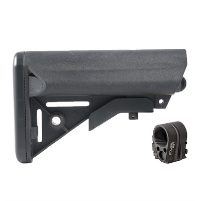 Brownells Ar-15 Enhanced Sopmod Stock Collapsible W/ Folding Stock Adapter - Ar-15 Enhanced Sopmod Stock Assy W/Folding Stock Adapter
