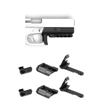 Rc12 Rail For Glock® 17 Gen 1 & 2 Plus 2 Free Mc17 Mag Clips - Rc12 Rail For Glock™ 17 Gen
