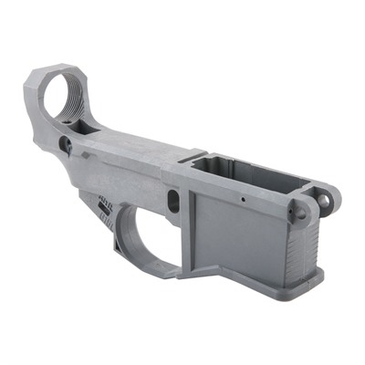 Ar-15 80% Polymer Lower Receiver & Jig Kit - Ar-15 80% Polymer Lower Receiver With Jig Kit Gray