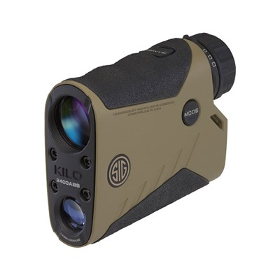 Sig Sauer Kilo 2400abs Applied Ballistic System Laser Rangefinder - Kilo 2400 Abs Applied Ballistic System 7x25mm Fde