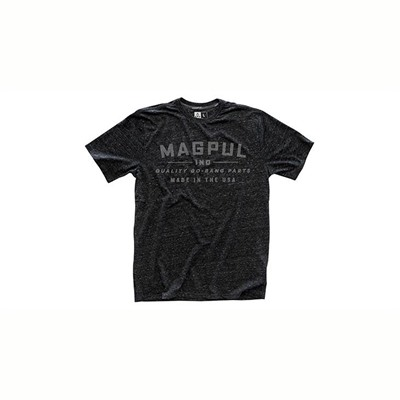 Magpul Megablend Go Bang T-Shirts - Megablend Go Bang T-Shirt Charcoal Heather Small