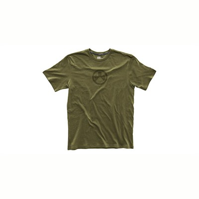 Magpul Men's Fine Cotton Icon Logo T-Shirts - Fine Cotton Icon Logo T-Shirt Olive Small