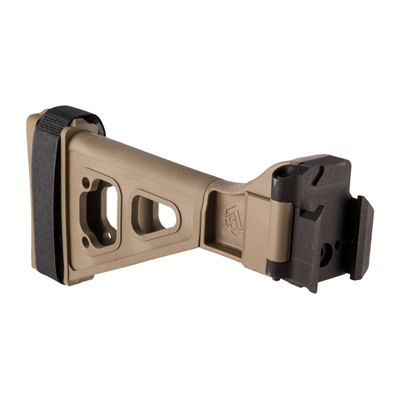 Sb Tactical Sbtevo Side-Folding Pistol Stabilizing Brace - Sbtevo Side-Folding Pistol Stabilizing Brace Fde