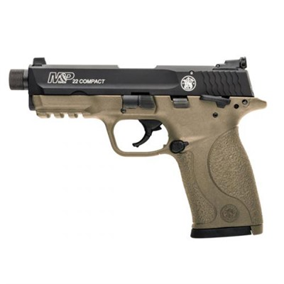 """Smith & Wesson M&P 22 Compact Fde 22 3.5"""" Threaded 10 1"""