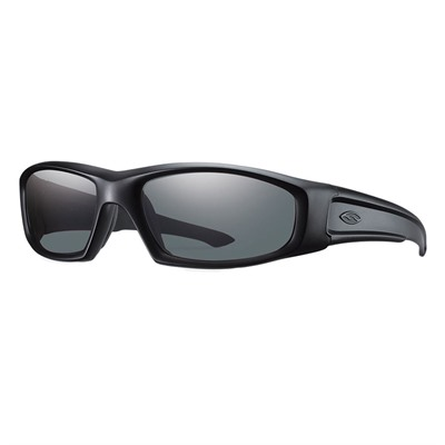 Smith Optics Hudson Elite Protective Glasses - Hudson Elite Glasses Black Frame Gray Lens