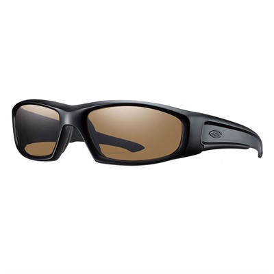 Smith Optics Hudson Elite Protective Glasses - Hudson Elite Glasses Black Frame Brown Polarized Lens