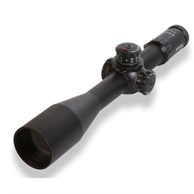 Kahles K624i 6-24x56mm Scope Ffp Msr/Ki Reticle - 6-24x56mm Ffp Msr/Ki Left Windage Matte Black