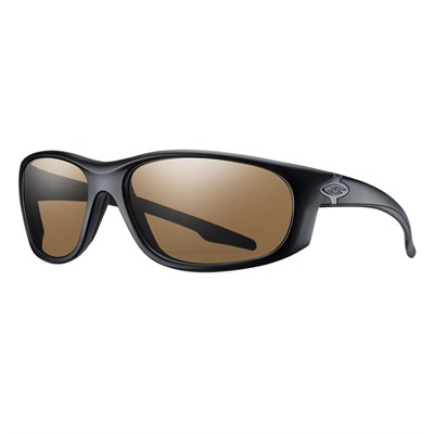 Smith Optics Chamber Elite Protective Glasses - Chamber Elite Glasses Black Frame Brown Polarized Lens
