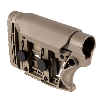 Luth-Ar Ar-15 Stock Assembly Collapsible Carbine Length - Ar-15 Stock Assembly Adjustable Carbine Length Fde