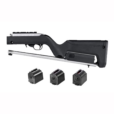 Brownells Ruger 10/22 Backpacker Stock W/ 3 Pk Bx 1 10 Rd Mags USA & Canada