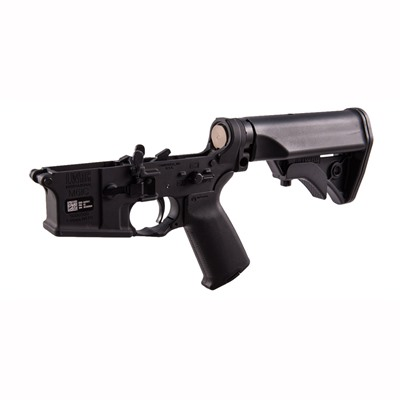 Lwrc International Ar-15 Lower Receiver Complete Ambidextrous - Lower Receiver Complete Ambidextrous Blk
